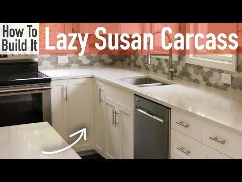 DIY Lazy Susan Carcass (Frameless)