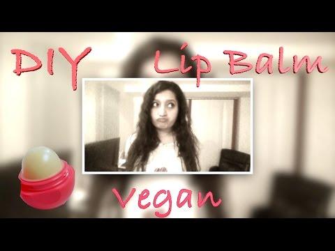 DIY Vegan Lip Balm | How to make 5 minutes DIY EOS Lip Balm