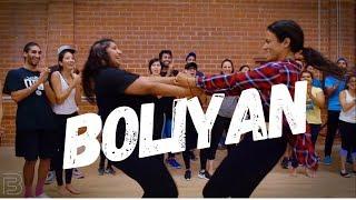 """""""BOLIYAN"""" - GIDDHA STEP (BHANGRA FUNK) Dance - Shivani Bhagwan and Chaya Kumar Choreography"""
