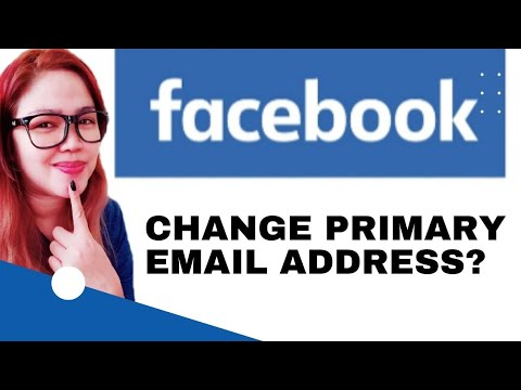 How to change your primary email address on Facebook (2018)✅✅✅