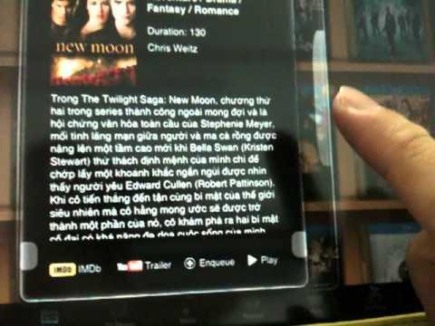 hdvietnam.com:  htpc chạy xbmc duyệt phim bằng ipad trên tv 3d lg lw6500