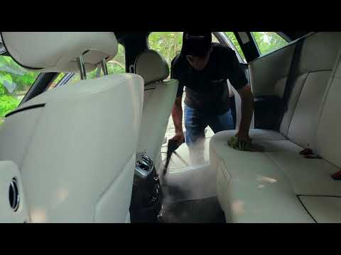 Rolls Royce Ultimate Interior Cleaning by  Wash Me Now