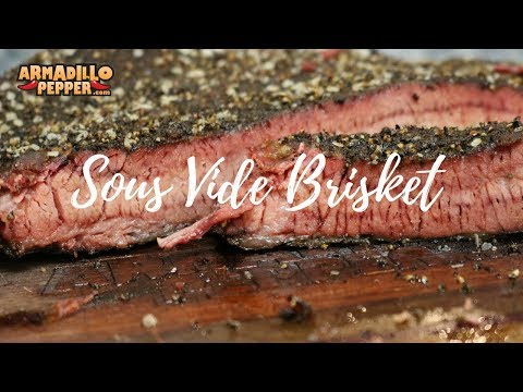 Sous Vide Brisket with Ancho Dippin' Sauce | Anova Precision Cooker