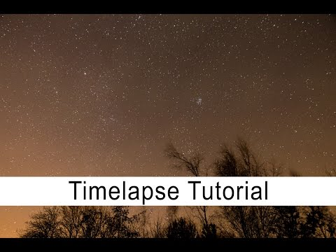 Timelapse Tutorial: How to shoot a timelapse video of the night sky with your DSLR