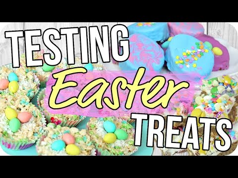 Easter Treats! Fun & Easy for Everyone!