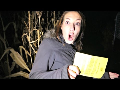 Lost In the Corn Maze After They Closed!