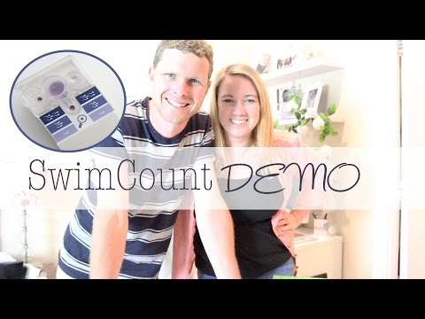Swim count demo { world first at home sperm motility test! }