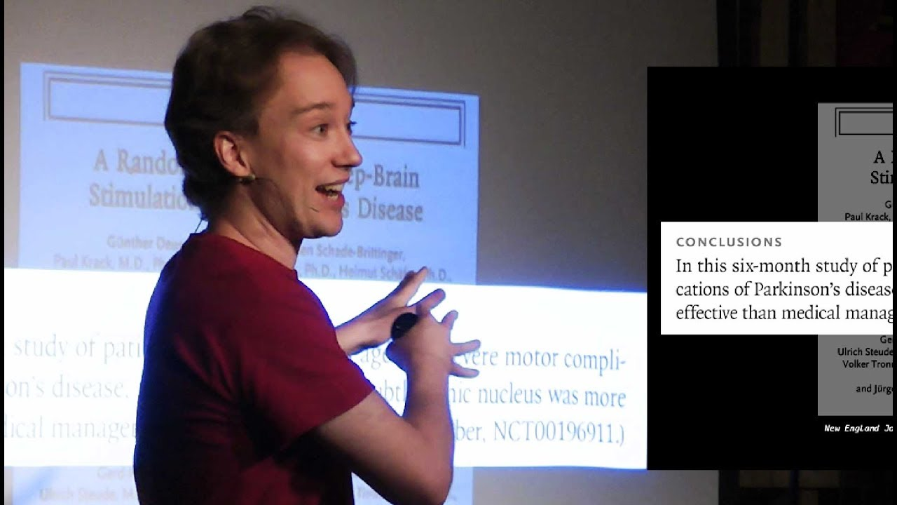 Blocking People in Real Life: Tom Scott at An Evening of Unnecessary Detail