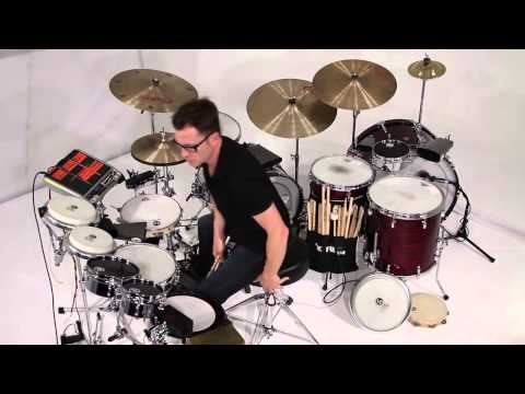 Stanton Moore on the LP Mini Timbales