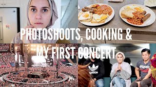 PHOTOSHOOTS, COOKING & MY FIRST TIME!