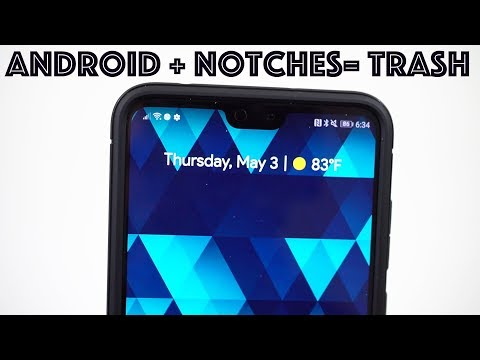 Android Notches Suck: Will This Continue on Galaxy S10 & Pixel 3?