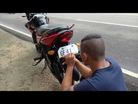 Hand Painted temporary license plates Philippines