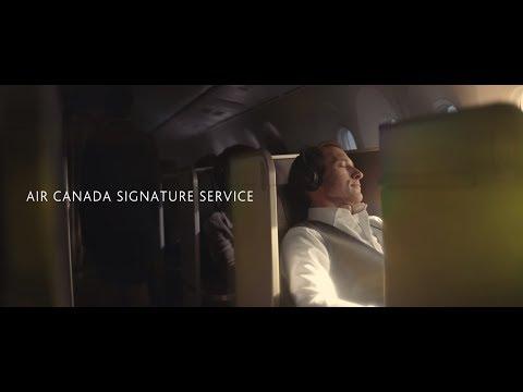 Air Canada: Introducing Air Canada Signature Service - International