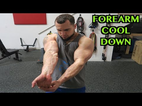 5 Minute Forearm Static Stretching Routine | Cool Down