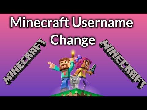 Minecraft Username Change || How To Change Minecraft Username (2018) ||