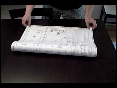 How to Fold a Drawing