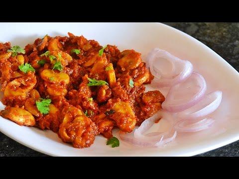 Chilli Garlic Mushrooms - Mushroom Stir Fry