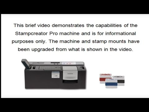 Sterling Marking Products Inc. - Stampcreator Pro video