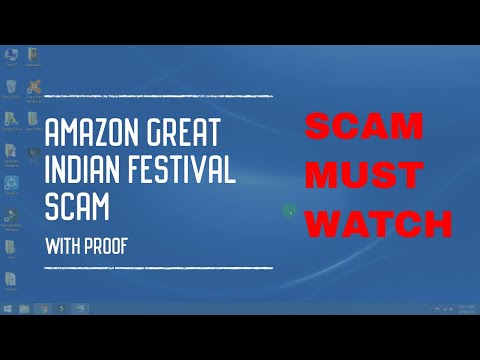 AMAZON GREAT INDIAN FESTIVAL SALE 2017 SPAM WITH PROOF