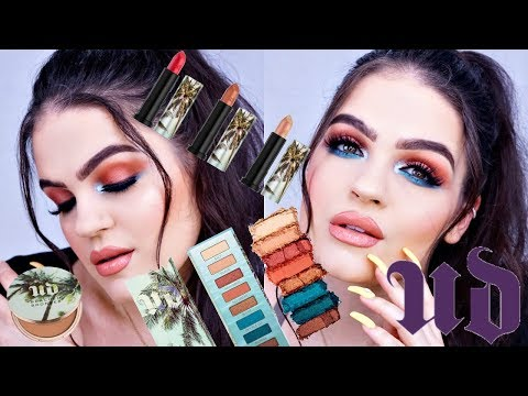 NEW Urban Decay BEACHED Collection | Swatches, Review, & Tutorial