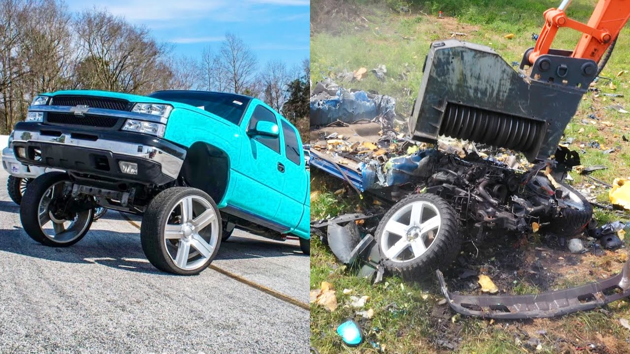 Squatted Truck Gets MULCHED and sold in jars