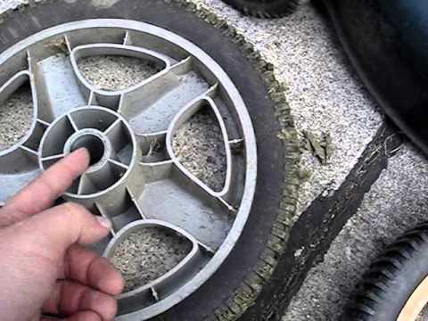 Craftman High Mower Wheel Repair