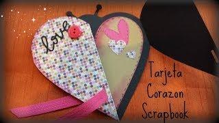 Tarjeta  sencilla facil de realizar, materiales faciles de encontrar, una manera muy divertida de regalar a nuestros  amigos en el dia de San Valentin