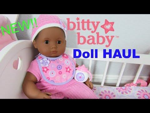 NEW!! American Girl BITTY BABY Doll HAUL Unboxing New WELCOME HOME BITTY SET! BITTY BABY DOLL VIDEO
