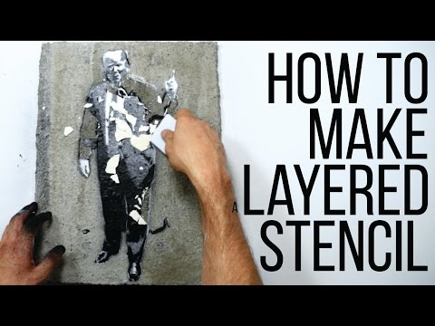 How To Make a Layered stencil