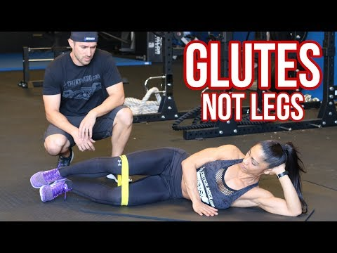 Grow Glutes Not Legs - Here's How!