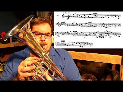The Eb Alto/Tenor Horn & Sight Reading some random piece