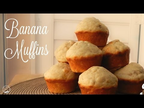 Simple & Easy Banana Muffins Recipe | The Sweetest Journey