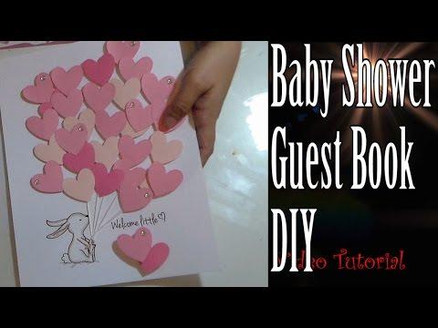 Craft DIY :Baby Shower Guest Book