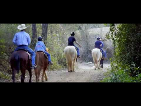 Montserrat tour by riding a horse