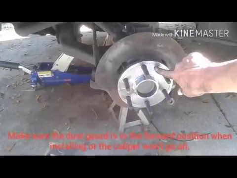 GMC 1500 2WD Front Hub Assembly Replacement