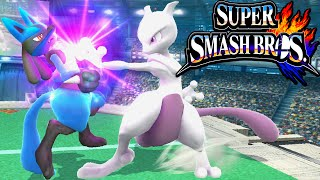 Super Smash Bros 4 Wii U Mewtwo Guide New DLC Character Final Smash Special Moves Gameplay Nintendo
