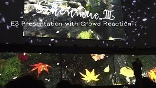 Shenmue 3 Full E3 Reveal With Crowd Reactions
