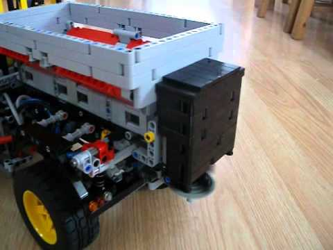 lego #8110 snow plow and salter