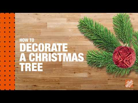 How to Decorate a Christmas Tree: Christmas Tree Lighting