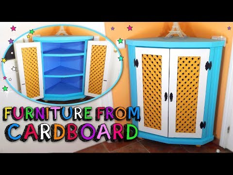 How to Make Amazing FURNITURE from Cardboard - Mr. DIY