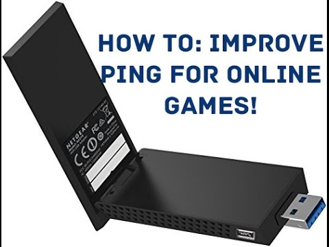 How to Improve Gaming Performance on a Wireless USB Network Adapter!