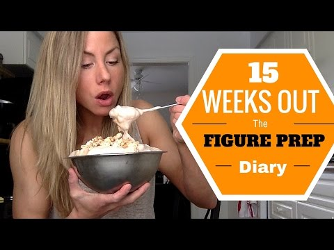 15 Weeks Out: Protein Fluff/Ice Cream, Winter Destroys Me AGAIN, Best Workout EVER