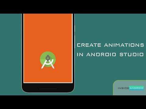 Create animations in Android Studio in simple steps