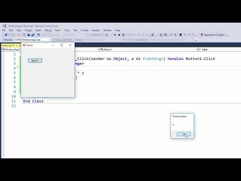 Visual Basic Programming - Errors and Debugging