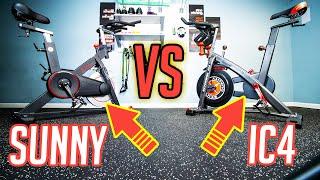 Indoor Cycling Bike Battle! Better Bike? IC4 or Sunny? Peloton Digital?