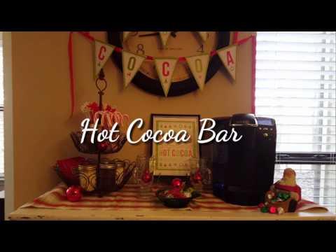 Hot Cocoa Bar ❄☕❄☃❄