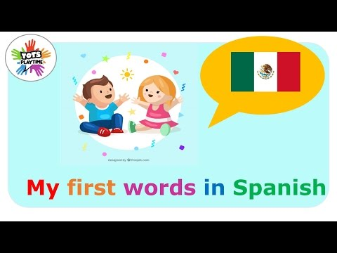 My first words in Spanish +  Spanish for babies