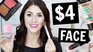 Back to School Makeup Using ONLY Products Under $4