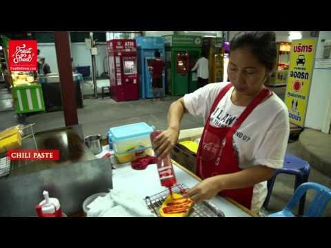 Thai Bread And Butter Toast With Jam And Chocolates | Bangkok Street Food - Ramkhamaeng Soi 47