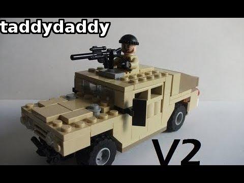 How to make a Lego Humvee V2